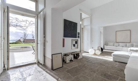 Arquitectura: Una vivienda infinita a las faldas de un castillo