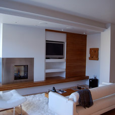 Contemporary Living Room by studiotrope Design Collective