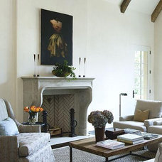 Eclectic Living Room by Francois & Co