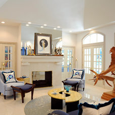 Contemporary Living Room by Peter A. Robinson Remodeling  LLC