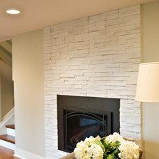 Contemporary Living Room by AK Interior Design