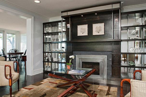 Modern Living Room by Akke Woodworks