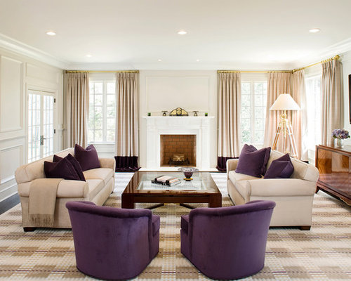 Purple Living Room teal accented rooms this living room by rachel reider interiors via houzz is definitely Saveemail