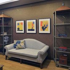 Asian Living Room by Design HQ (Design Hirayama + Quesada)
