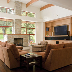 modern living room by Banducci Associates Architects, Inc.