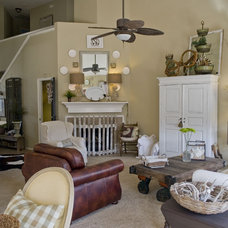Eclectic Living Room by Katherine Robertson Photography