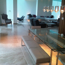 Contemporary Living Room by Ogle, luxury kitchens, Bathrooms & Stonework