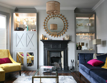 Alcove and Living Room Storage