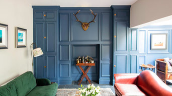 Alcove Cupboards and Wood Panelling