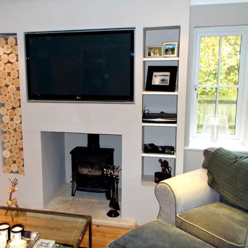 Alcove Space in a Chimney Breast