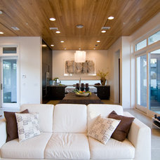 Contemporary Living Room by eric marcus studio