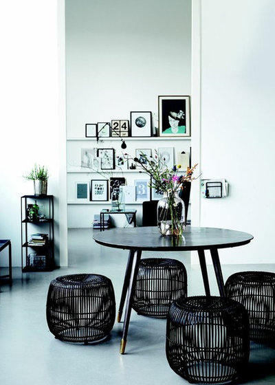 Asian Living Room by Alexander & Pearl