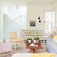 Traditional Living Room by Alexandra Angle Interior Design