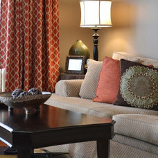 Traditional Living Room by Modern Antiquity, LLC