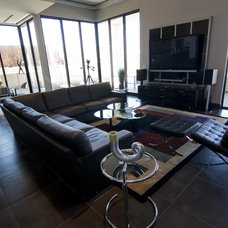 Contemporary Living Room by Interior Motives