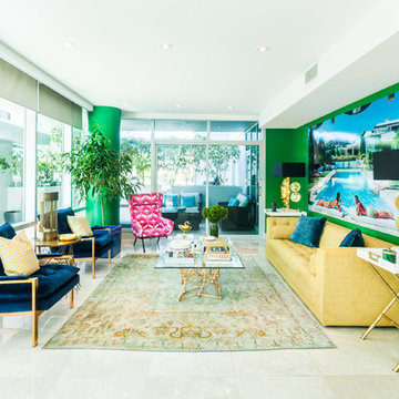 All About Color and Bold - Apartment Residential Project