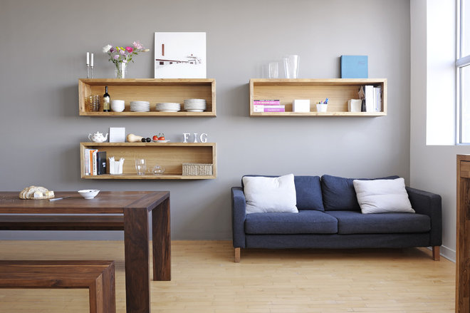 Contemporary Living Room by Gepetto