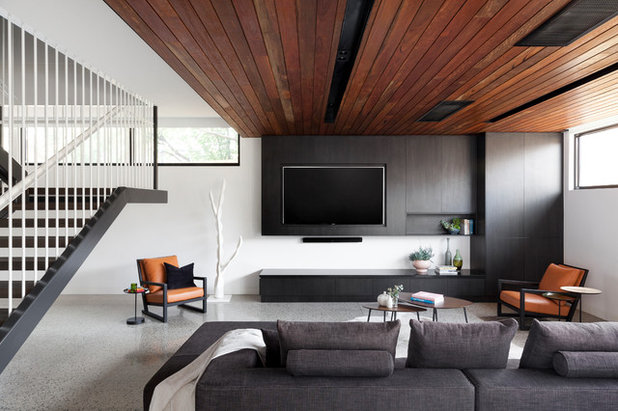 Modern Living Room by Design + Diplomacy