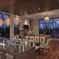 Contemporary Living Room by Allegro Builders