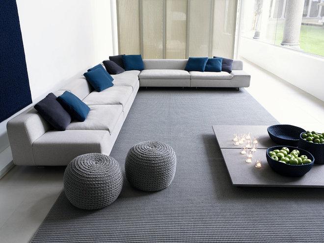 Contemporary Living Room by escale design