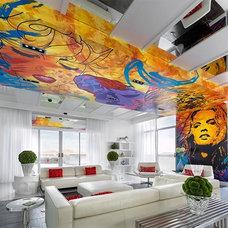 Contemporary Living Room Allure