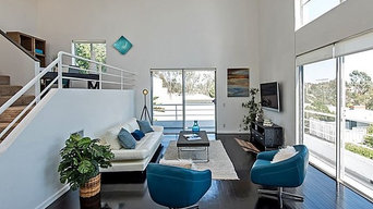 Alluring Brentwood Loft Style Condo, Los Angeles Vacant Home Staging