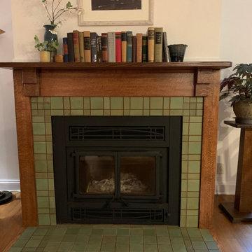 Alma - American Arts & Craft Fireplace