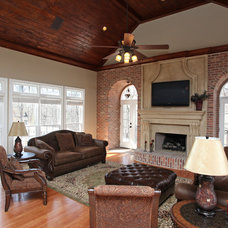 Traditional Living Room by Direct Build Home Improvement & More