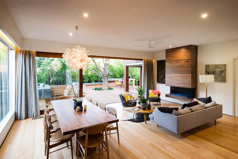 Contemporary Living Room by C.O.S Design