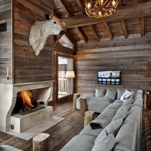 75 most popular rustic living room design ideas for 2018 stylish rustic living room remodeling pictures houzz - Rustic Living Room