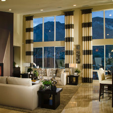 Contemporary Living Room by Ryan Young Interiors
