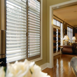 French Bros. Custom Shutters - Aluminum Shutters - Tired of sun damaged flooring and faded upholstery? Then French Bros. Custom Shutters is your solution! These stylish lightweight shutters are perfect for any room of your home.