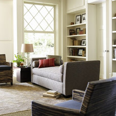 Eclectic Living Room by Lee Kleitsch