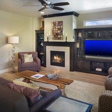 Modern Living Room by Alysse Matthews interiors