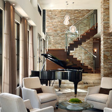 Contemporary Living Room by WAYCOOL Homes, LLC