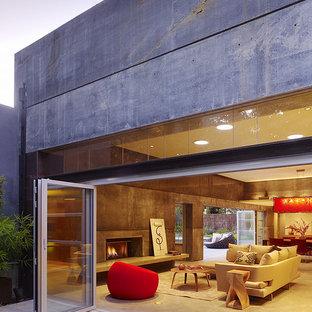 Amazing concrete house