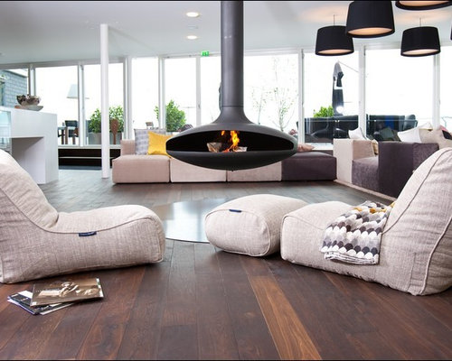 modern bean bag furniture living room design ideas