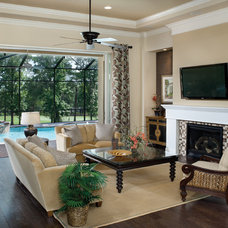 Traditional Living Room by Arthur Rutenberg Homes