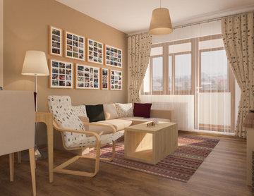 Amenajare Sufragerie (Living Room)