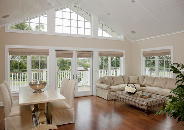 Beach Style Living Room by Flagg Coastal Homes