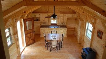 Amish Prebuilt Fully Assembled Cabins Delivered