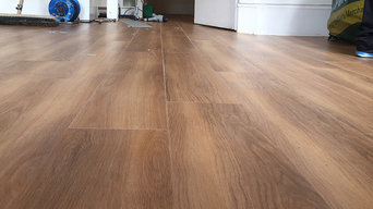 Amtico Walnut Wood Flooring to Premises in Noth London