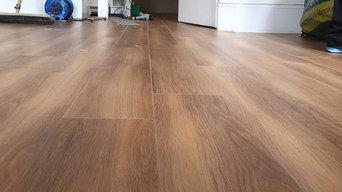 Amtico Walnut Wood Flooring to Premises in Noth London