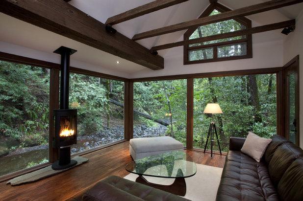 Montagne Salon by Amy A. Alper, Architect
