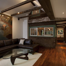 Rustic Living Room by Amy A. Alper