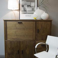 Eclectic Living Room by Redman Design Studio