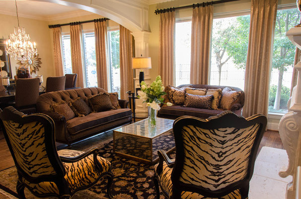 Traditional Living Room by Kevin Twitty- IBB Designer