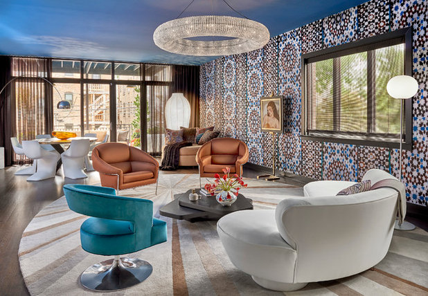 Contemporary Living Room by Mitchell Channon Design
