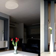 Modern Living Room by Pratim Studio