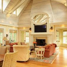Traditional Living Room by Buffington Homes South Carolina
